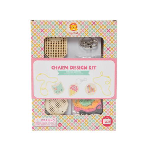 Tiger Tribe Charm Design Kit - Cross Stitch