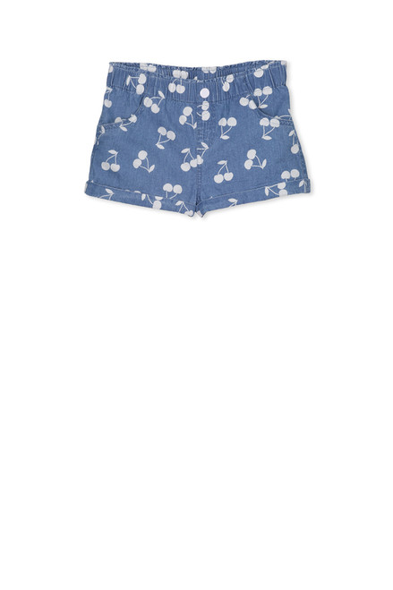Milky Denim Short - Front