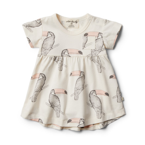 Wilson and Frenchy Organic Tutu Toucan Dress