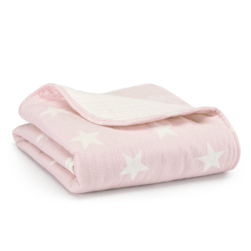 Aden + Anais Grace Flannel Brushed Muslin Cotton Stroller Blanket