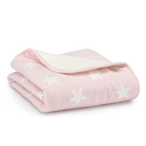 Aden + Anais Grace Flannel Brushed Muslin Cotton Stroller Blanket