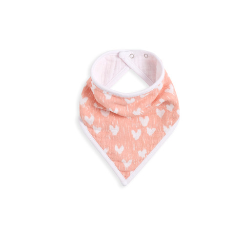 Aden + Anais White Label Flock Together Classic Muslin Adjustable Bandana Bib