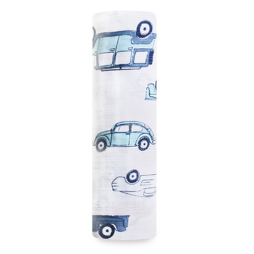 Aden by Aden + Anais Hit The Road Classic Muslin Single Swaddle