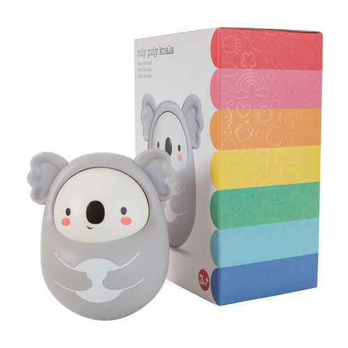 Tiger Tribe Roly Poly Koala with packaging