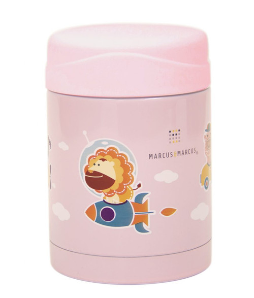 Marcus & Marcus Thermal Food Jar Pink