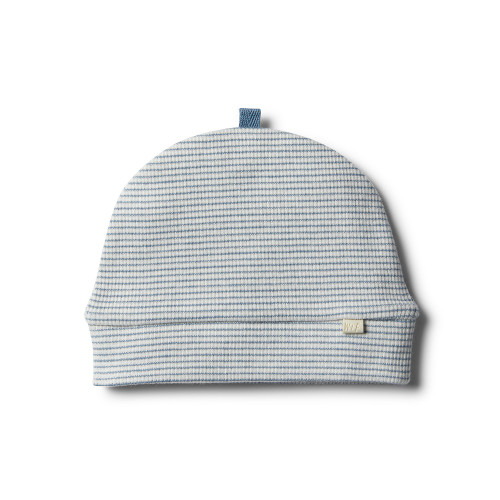 Wilson and Frenchy Organic Faded Denim Beanie - Front