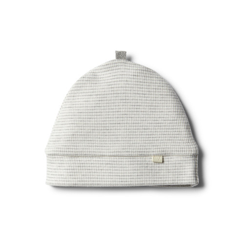 Wilson and Frenchy Organic Cloud Grey Beanie - Front