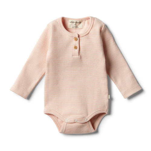 Wilson and Frenchy Organic Desert Flower Bodysuit - Front