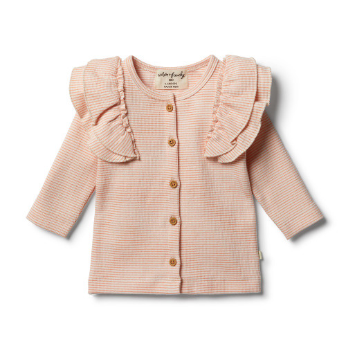 Wilson and Frenchy Organic Desert Flower Cardigan - Front