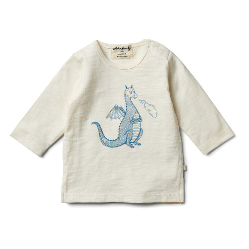 Wilson and Frenchy Dragon Long Sleeve Top - Front