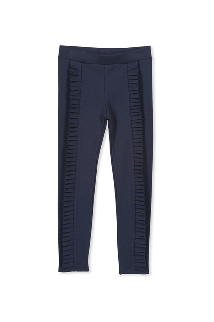 Milky Ponte Frill Pant - Front