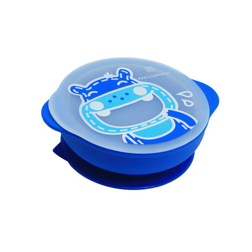 Marcus and Marcus Self Feeding Suction Bowl with Lid Lucas