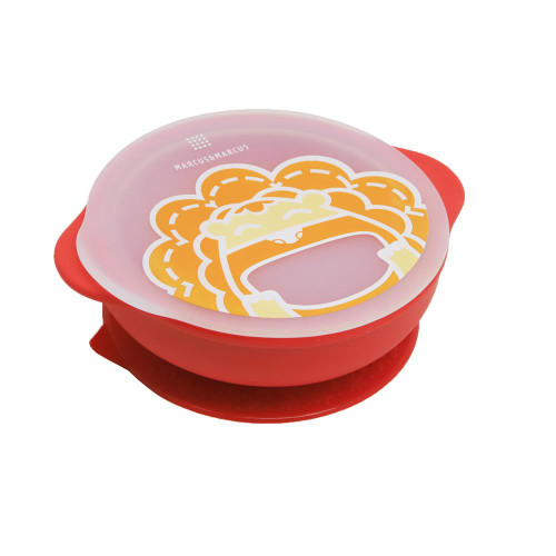 Marcus and Marcus Self Feeding Suction Bowl with Lid Marcus