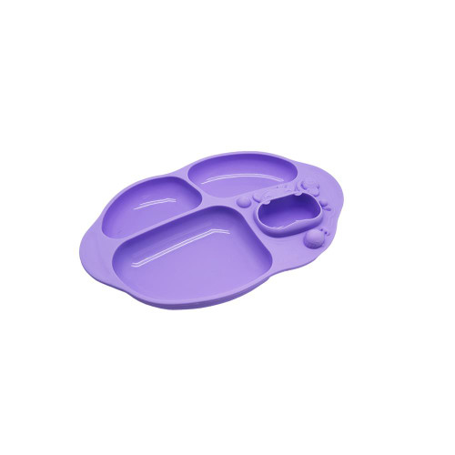 Marcus and Marcus Yummy Dips Suction Divided Plate Willo