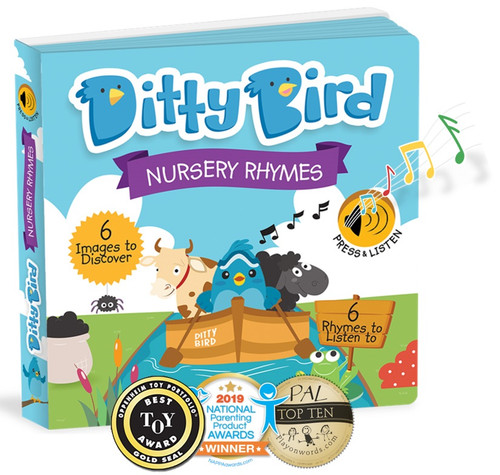 Ditty Bird Nursery Rhymes Board Book
