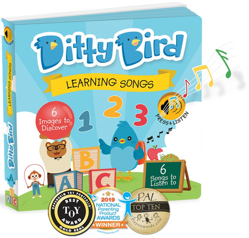 Ditty Bird Learning Songs Board Book