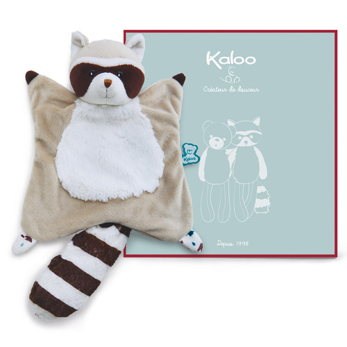 Kaloo Filoo Racoon Doudou with gift box