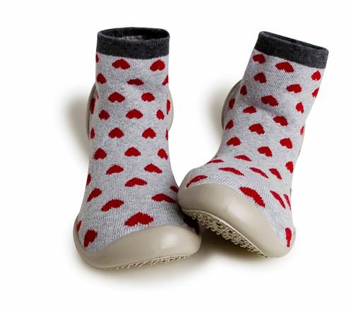 Collegien Slipper Socks Hearts