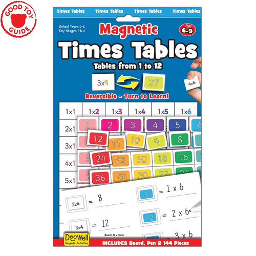 Fiesta Crafts Magnetic Times Tables