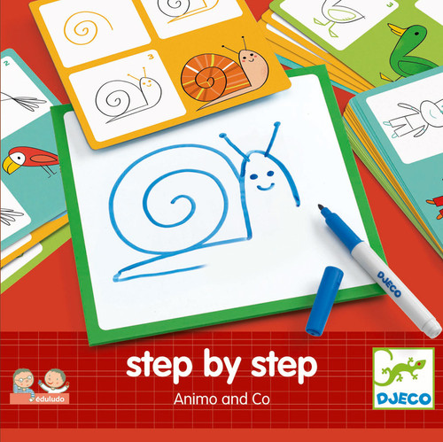 Djeco Animals and Co | Drawing Set