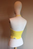 "Halter Top - Cotton - Sun Yellow - Final Sale - Medium (7.5"" Sides)"