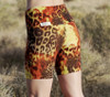 High Waist Cobra Bike Shorts -Tiger