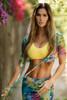 Colorforia Mesh Yoga Wrap