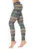 Sport Band Leggings - Brushed Print