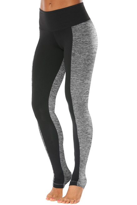 High Waist Sabe' Leggings -Supplex Accent on Butter