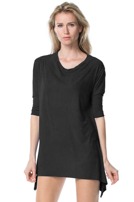 Stretch Suede T-Shirt