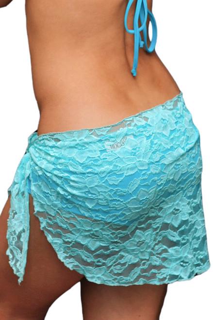 Lace Kiss Wrap - long 5 inch back