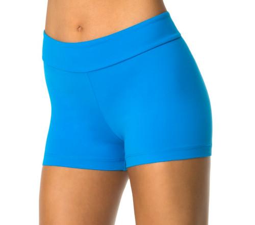High Rise Mini Band Shorts - Custom