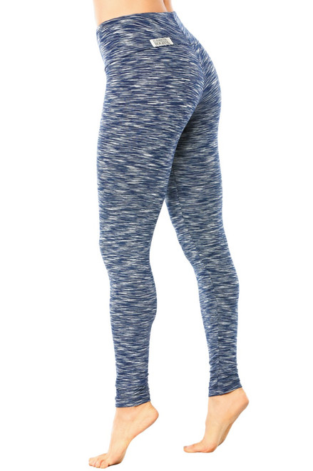 High Waist Leggings - Water