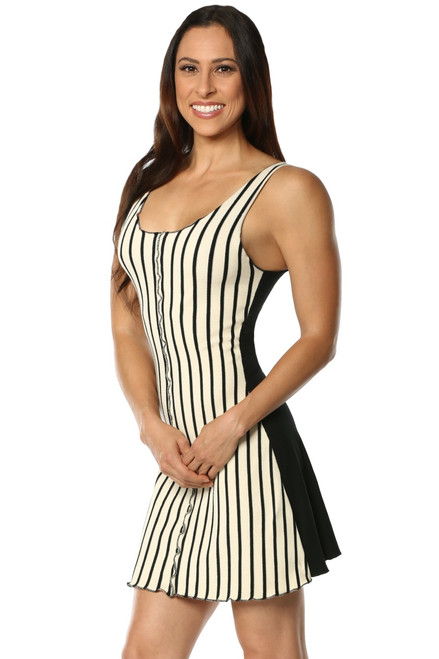 French Terry Striped Dress - FINAL SALE - SMALL/MEDIUM
