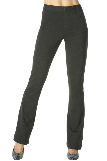 Office Yoga Bootcut Pants - Ponte De Roma