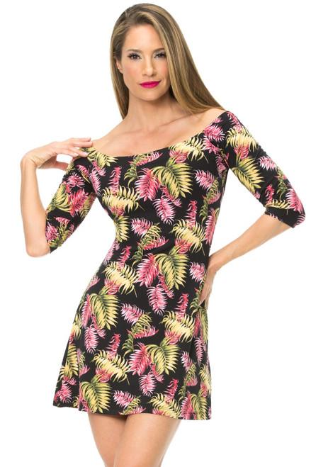 JNL - Miami Dress w/ Scarf