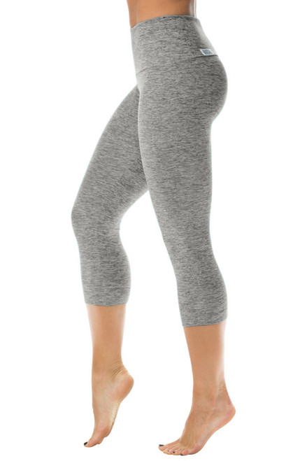 High Waist 3/4 Leggings - Butter