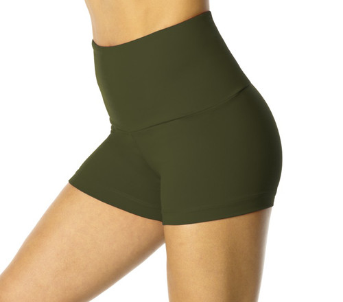 High Waist Shorts - Supplex