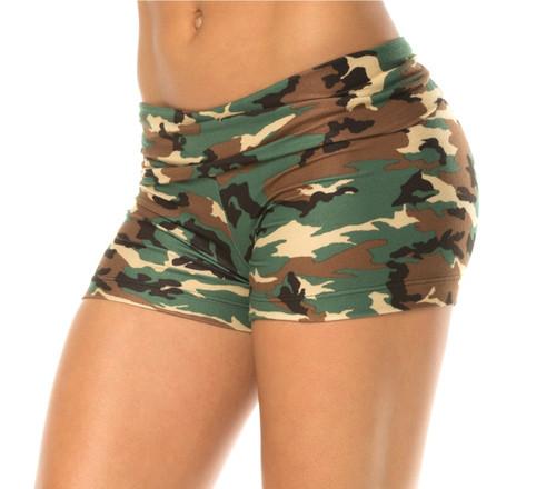 Rolldown Shorts - Camo