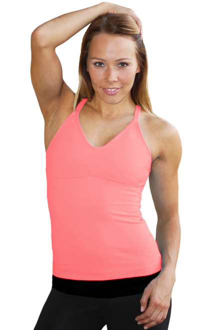 Racer Doll Top - Supplex - Coral