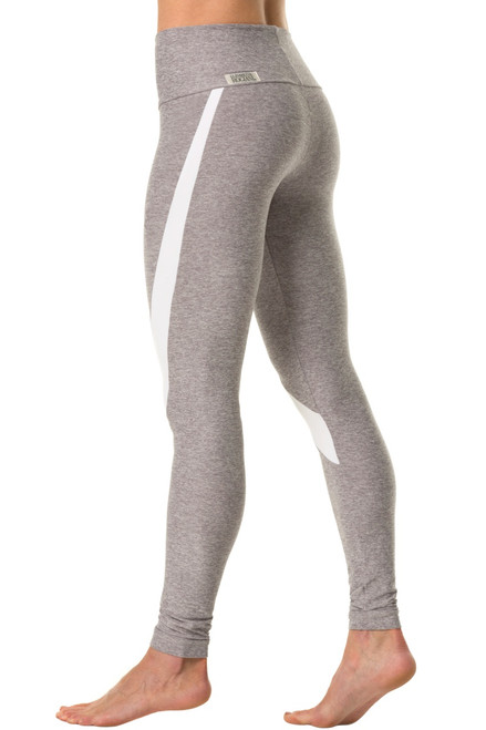 Victoria High Waist Leggings - Supplex Accent on Butter