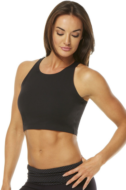 Lucy Crop Top (Mid Length Olympic Bra)