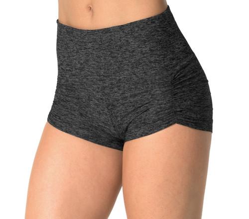 High Waist Kala Butter Gather Front Shorts - custom