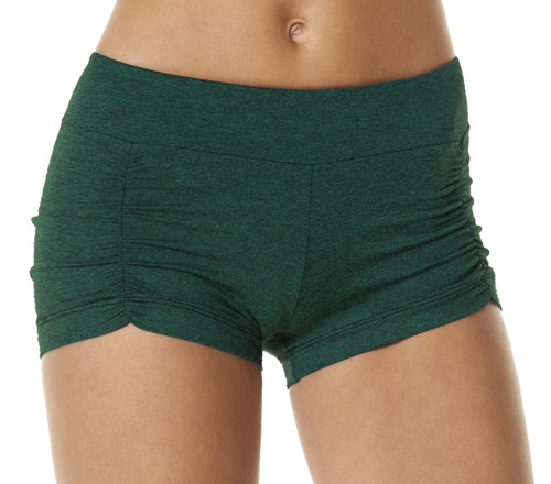 Double Weight Butter Kala Gather Front Mini Band Shorts - Custom