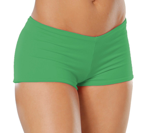 "Lowrise Double Layer Boy Shorts - FINAL SALE - EMERALD - MEDIUM - 1.5"" INSEAM (1 AVAILABLE)"