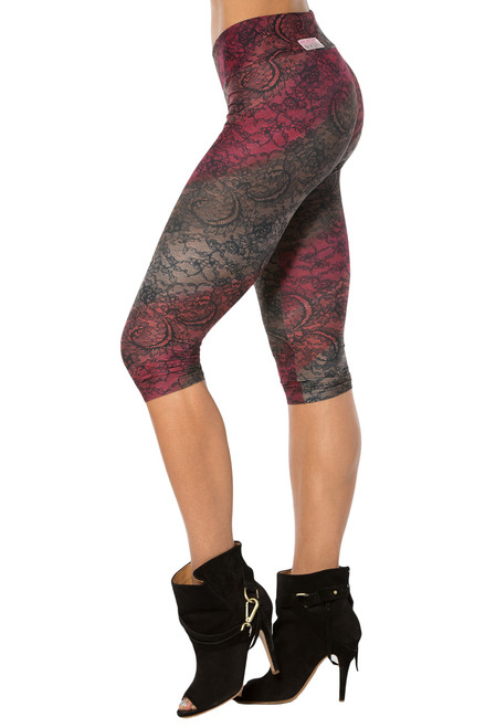 Venice 3/4 Leggings - FINAL SALE - SMALL (1 AVAILABLE)