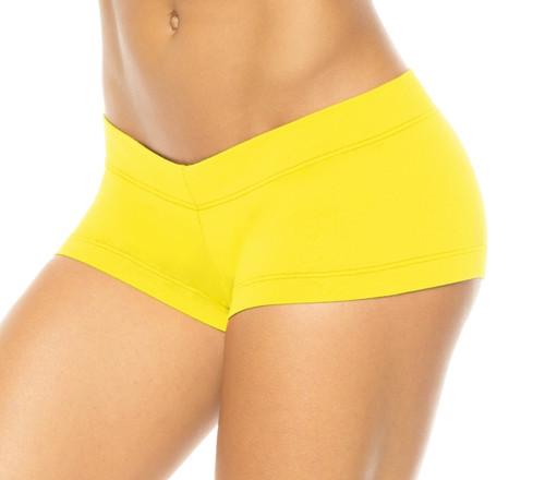 Lowrise Mini Shorts  Stretch Cotton