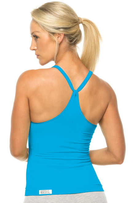 Racer Doll Top - Supplex - Bright Turquoise - Final Sale - Large (1 Available)