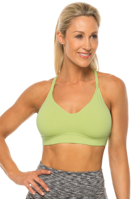 Racer Doll Bra - LIME - FINAL SALE