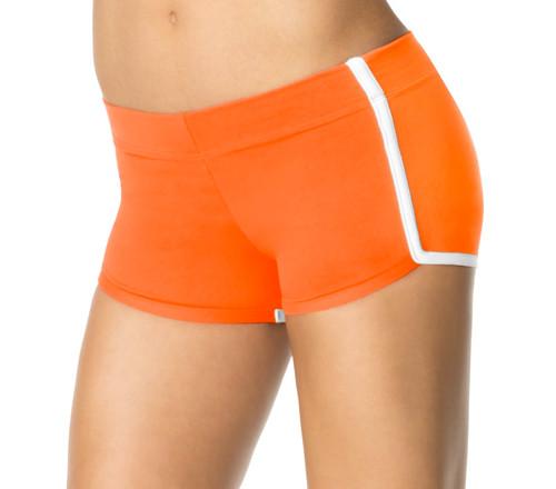 Stretch Cotton Retro Shorts